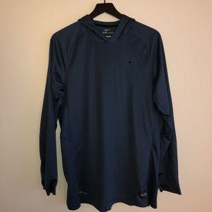 Nike Dri-Fit Elite Long Sleeve with Hood 🏀